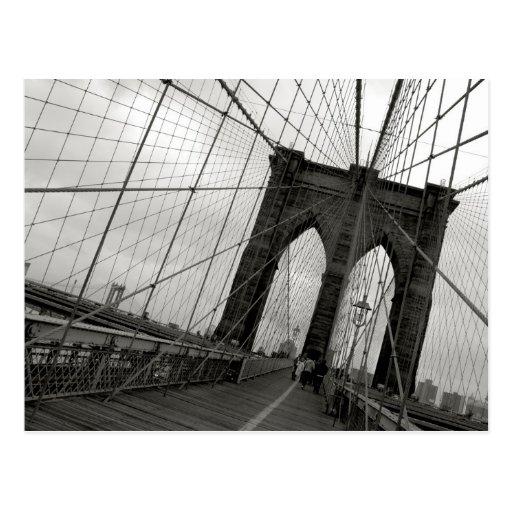 Brooklyn-Brücken-Postkarte