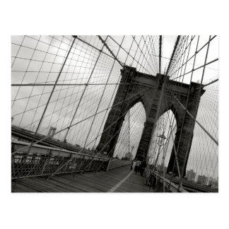 Brooklyn-Brücken-Postkarte Postkarte