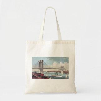 Brooklyn-Brücken-Tasche Tragetasche