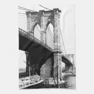 Brooklyn-Brücken-Ufergegend Küchentuch