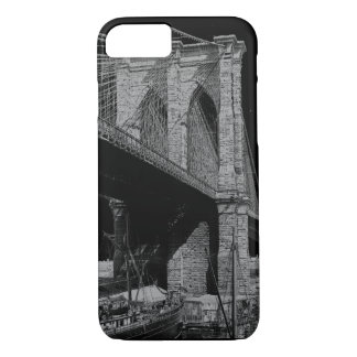 Brooklyn-BrückenUfergegend 1896 iPhone 8/7 Hülle