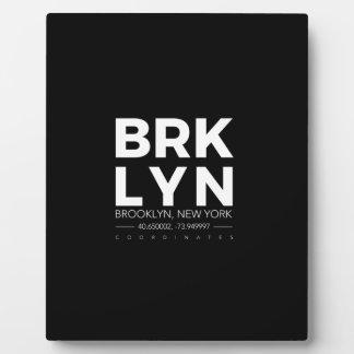 Brooklyn Fotoplatte