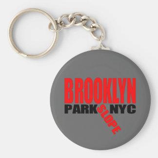 Brooklyn- Parksteigungs-Schlüsselkette Standard Runder Schlüsselanhänger