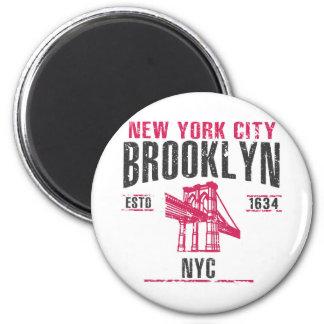Brooklyn Runder Magnet 5,1 Cm