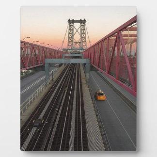 Brooklyn-Taxi Fotoplatte