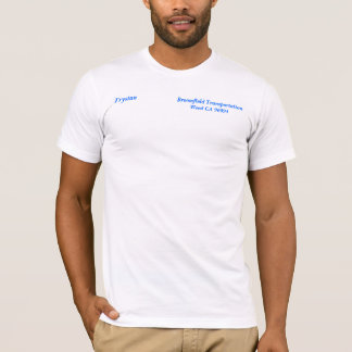 Broomfield Transport-         Unkraut CA 96094… T-Shirt