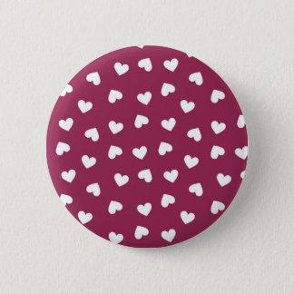 Brosche des Herzens Runder Button 5,1 Cm