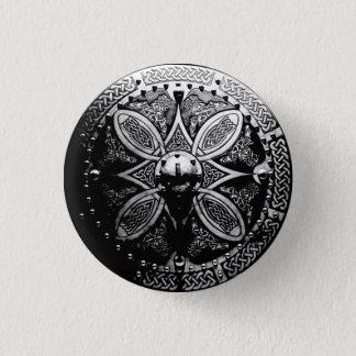 Brosche Targe Button