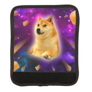 Brot - Doge - shibe - Raum - wow Doge Koffergriffwickel