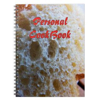 Brot-Kochbuch Spiral Notizblock