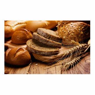 Brot und Weizen Freistehende Fotoskulptur