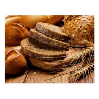 Brot und Weizen Postkarte