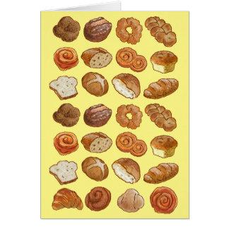 Brotgrußkarte Karte