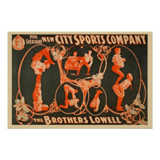 Brothers Lowell Sports Company kommerziell Poster