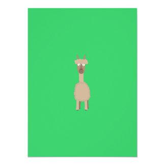 Brown-Alpaka 14 X 19,5 Cm Einladungskarte