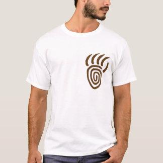Brown-Auftauchen-Bärn-Tatzen-links Brust-T - Shirt
