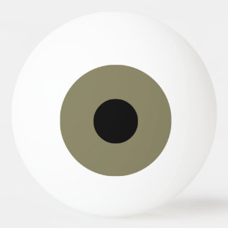 Brown-Auge Tischtennis Ball