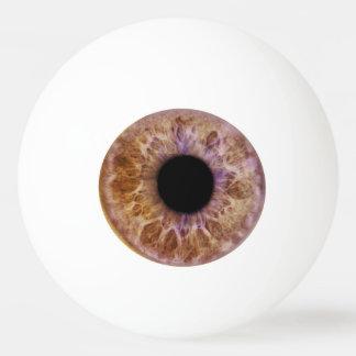 Brown-Augen-Klingeln pong Ball Tischtennis Ball