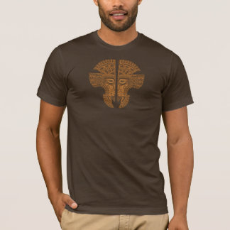 Brown-Azteke-Zwillinge T-Shirt