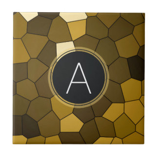 Brown-Buntglas-Mosaik Keramikfliese