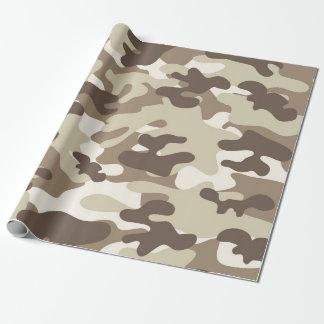 Brown-Camouflage-Entwurf Geschenkpapier