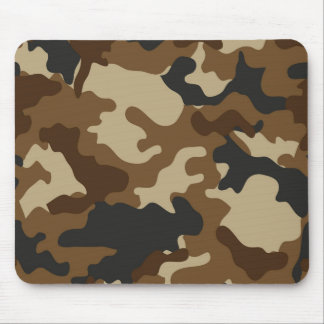 Brown-Camouflage Mousepad