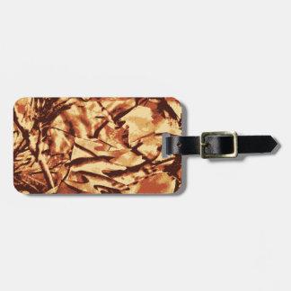 Brown-Camouflage-Tarnungs-Geschenke für Jäger Kofferanhänger