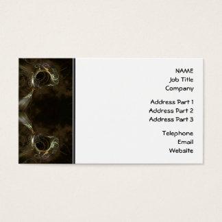 Brown-Fraktal-Muster Visitenkarte