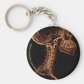 Brown Goldc c-dorn Röntgenstrahl keychain