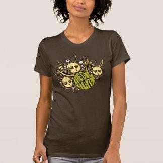 Brown großer Hurt-Häschen-T - Shirt