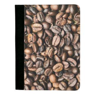 Brown-Kaffeebohne-Hintergrund Padfolio
