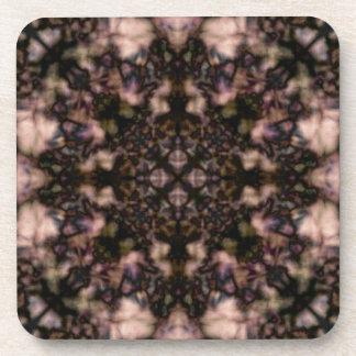 Brown-Kaleidoskopmuster Untersetzer