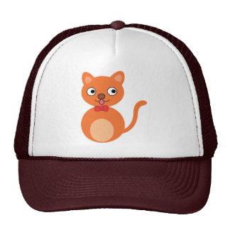 Brown-Katze Trucker Cap