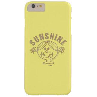 Brown-kleines Fräulein Sunshine Barely There iPhone 6 Plus Hülle