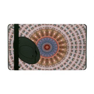 Brown-Mandala-Rad… iPad Etui