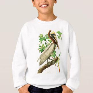 Brown-Pelikan-John James Audubon-Vögel von Amerika Sweatshirt