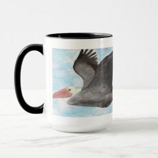 Brown-Pelikan-Tasse Tasse