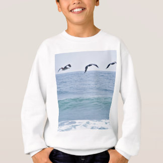 Brown-Pelikane an der Oregon-Küste Sweatshirt