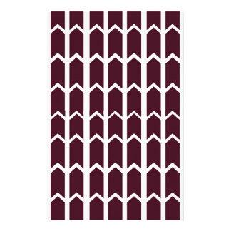 Brown-Platten-Zaun Briefpapier