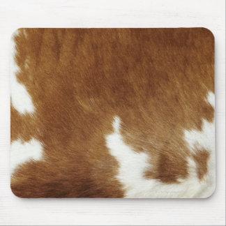 Brown-Rindleder-Druck Mauspad