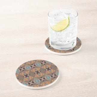 Brown, Rüttler, trinkender Untersetzer - Marokko 2