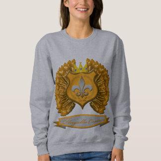 Brown-Schild, Krone und Flügel Sweatshirt