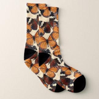 Brown-Schmetterling Socken