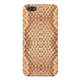 Brown Snakeskin Hülle Fürs iPhone 5