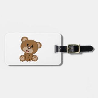 Brown-Teddybär Kofferanhänger