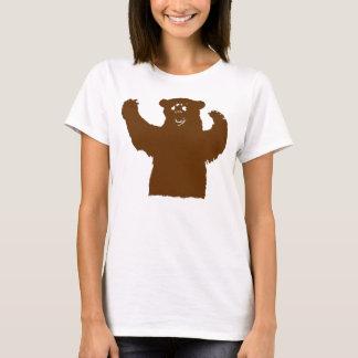 Brown-Umarmungs-T - Shirt