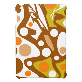 Brown und orange Dekor Hüllen Für iPad Mini