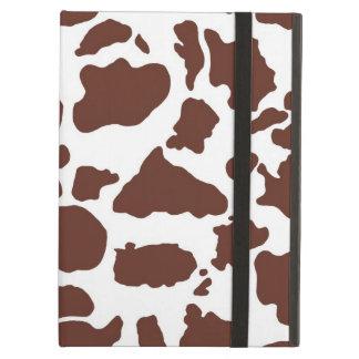 Brown und weiße Kuh-Druck-Abdeckung für iPad Air