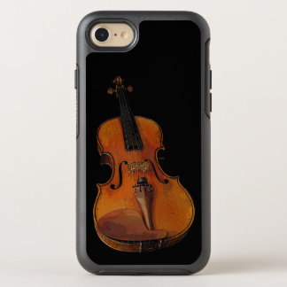 Brown-Violinen-Musik OtterBox Symmetry iPhone 8/7 Hülle