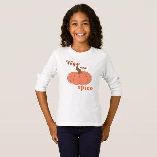 Brown-Zucker und Kürbis-Gewürz-Shirt T-Shirt